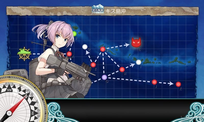 艦これ2018鎮守秋刀魚祭り3-2に出撃時の不知火