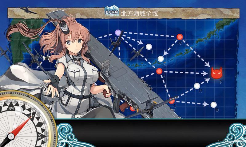 艦これ2018鎮守秋刀魚祭り3-4に出撃時のサラトガ