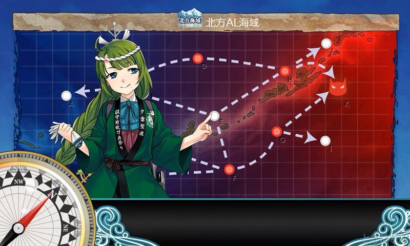 艦これ2018鎮守秋刀魚祭り3-5に出撃時の夕雲