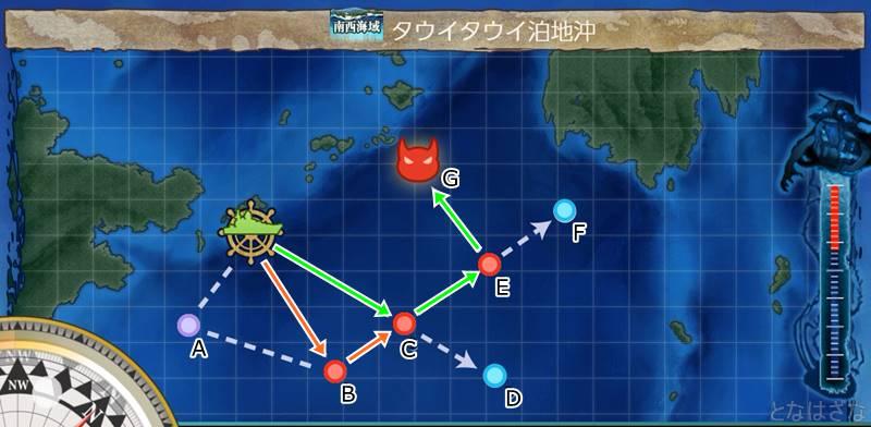第一ゲージのマップ