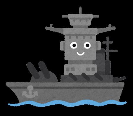 PNGoo イラスト屋の戦艦キャラクター 64色