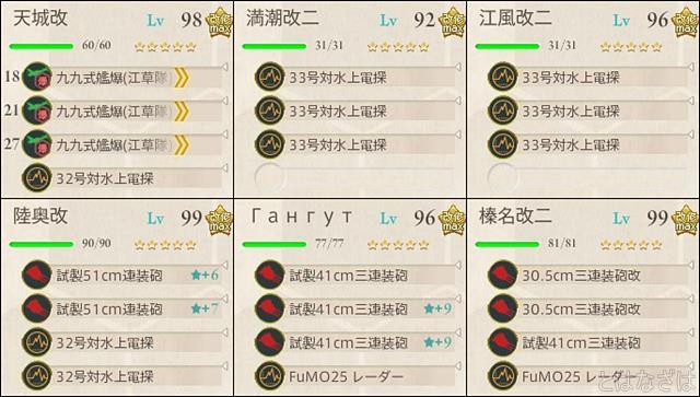 艦これ2017秋イベントE3甲戦力ゲージ1 決戦支援