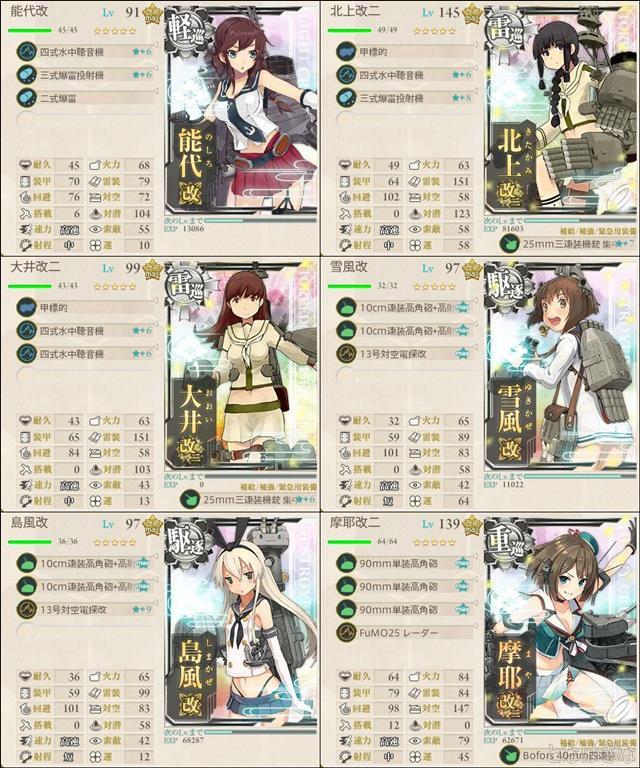 艦これ2017秋イベントE4甲第2ギミック Z1Z2第二編成小