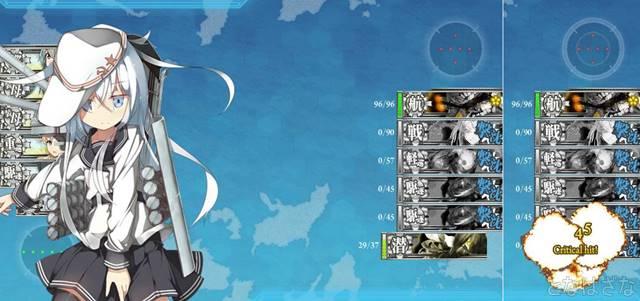 任務「改装航空巡洋艦、出撃!」 5-1ボス戦