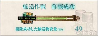 艦これ17春イベントE2甲 輸送物資量(TP)