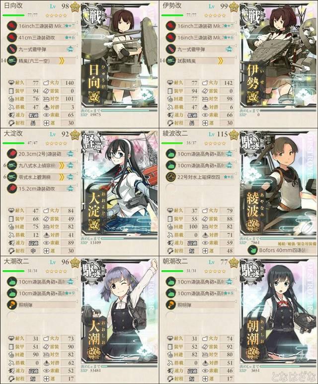 単発任務〈精鋭「第四航空戦隊」、抜錨せよ!〉 2-5編成小