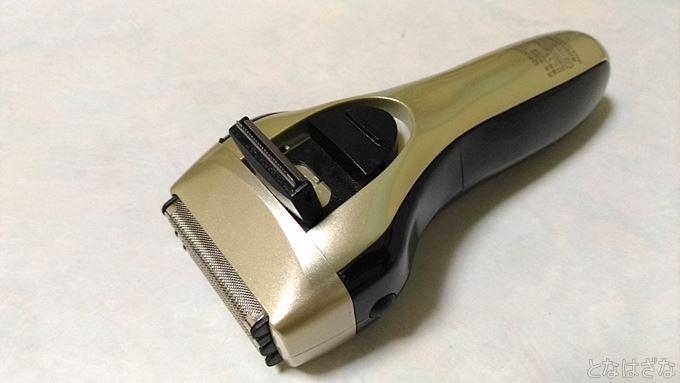 泉精器「IZF-V557-N」 本体裏面 キワゾリ刃