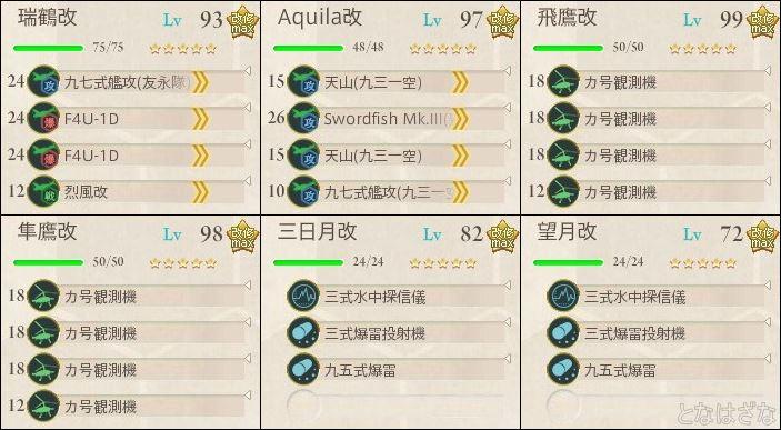 艦これ単発任務「最精鋭甲型駆逐艦、突入!敵中突破!」 5-3決戦支援