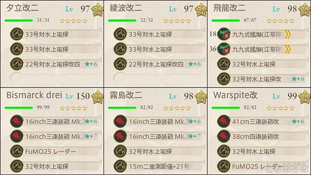 艦これ2018新春特別任務〈迎春!「空母機動部隊」全力出撃!〉 前衛支援