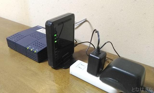 無線LANルーター「WN-G300R3」 設置