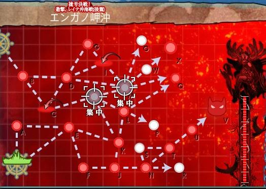 艦これ2018冬イベントE7甲 装甲破砕ギミック 対MWマス 基地航空隊投入ポイント
