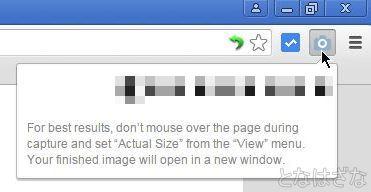 「Full Page Screen Capture」 キャプチャ中2