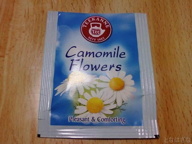 ポンパドール カモミールフラワーハーブティー 個別包装のアルミパック