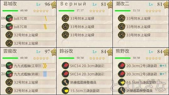 15夏イベE-4甲 ゲージ削り決戦支援