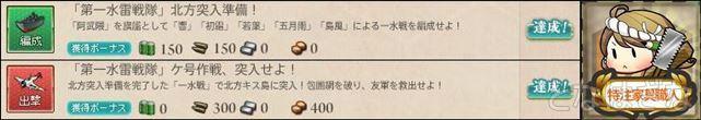 「第一水雷戦隊」ケ号作戦、突入せよ! 達成