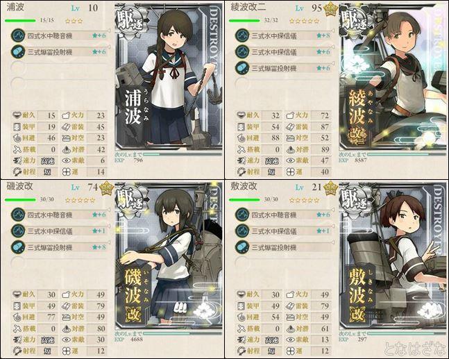 任務〈「第十九駆逐隊」出撃せよ!〉 編成小