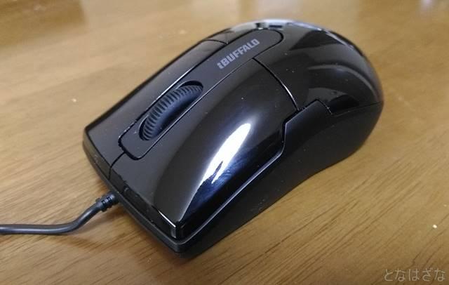 静音マウス BSMBU26SM 斜め画像