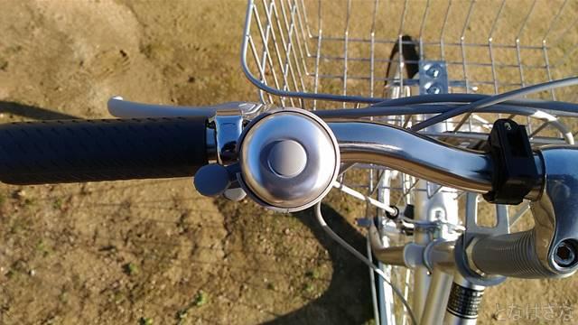 通販自転車シティサイクル ベル
