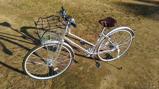 通販自転車シティサイクル 全体
