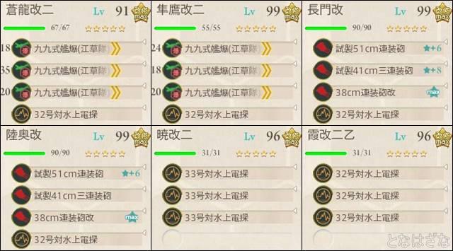 16春イベE4甲 決戦支援