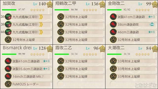 艦これ16春イベE5甲 決戦支援