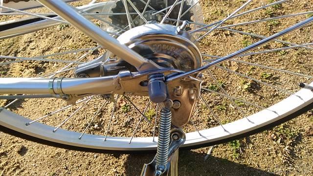 通販自転車シティサイクル 後輪ナットキャップ