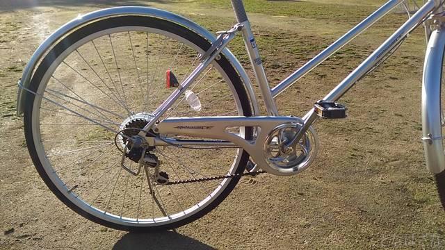 通販自転車シティサイクル 6段変速 ギア ギヤ