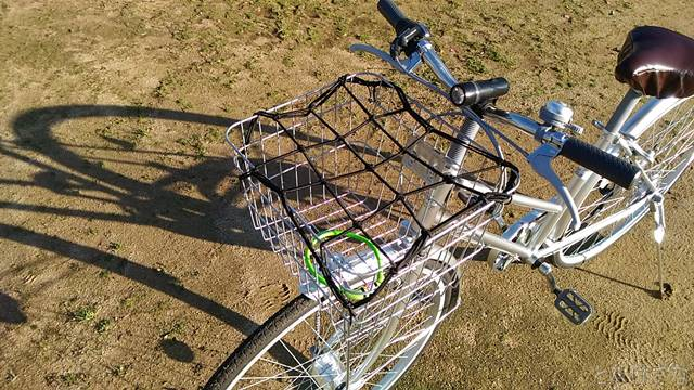 通販自転車シティサイクル 籠 カゴ