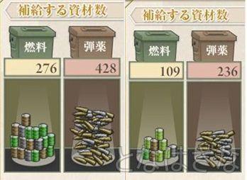 【艦これ】2015冬イベ 完走後のE-4丙 ちょこっと雲龍掘り 消費資材