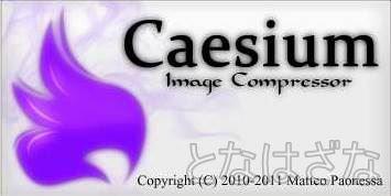 画像圧縮ソフト「Caesium」でJPGファイルを軽量化 1