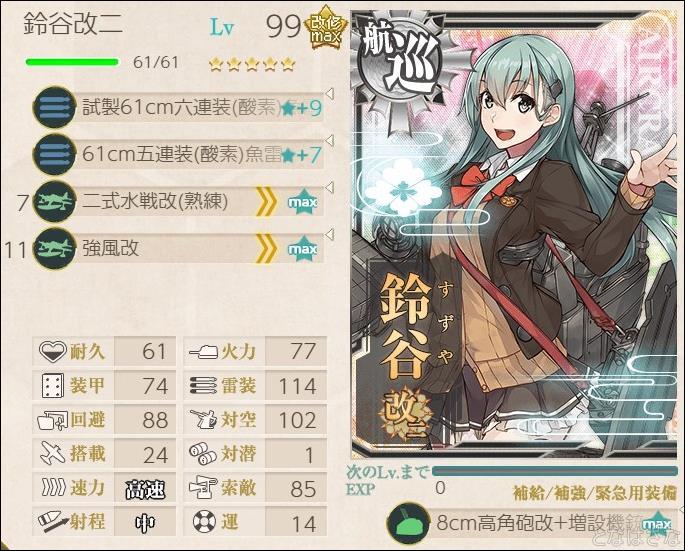 魚雷カットイン構成