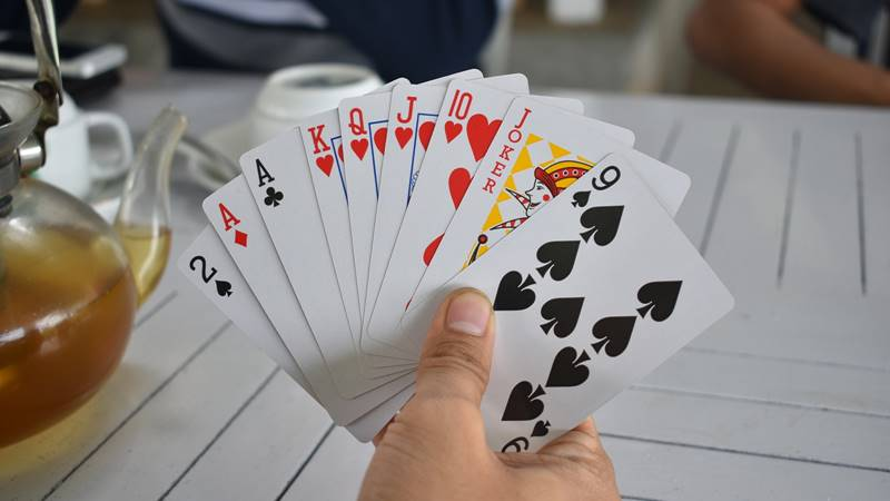 カードゲームの手札