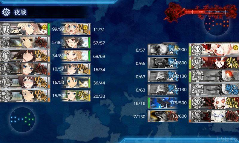 E4ボス前哨戦でのゲージ削り