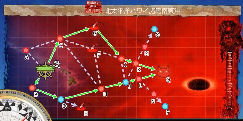 E5第一ゲージのマップ