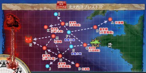 E1マップのざっくり敵情報