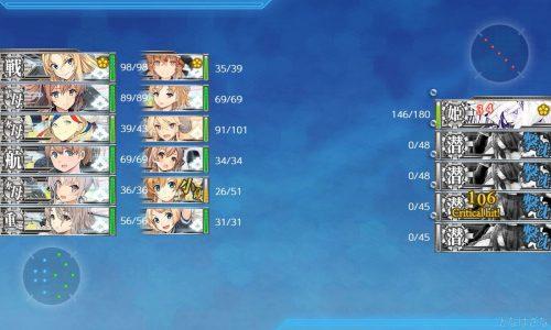 艦これ2019夏イベントE3甲での対潜支援哨戒