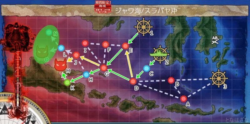 艦これ2019秋イベントE3マップ