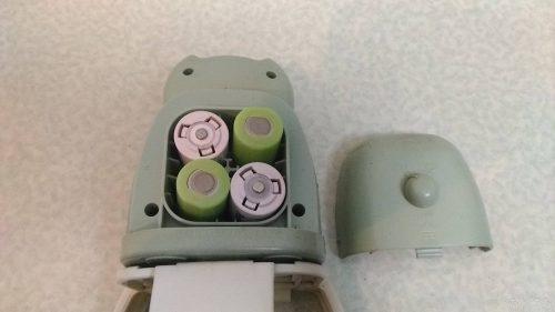 ガーデンバリアミニの電池ボックス