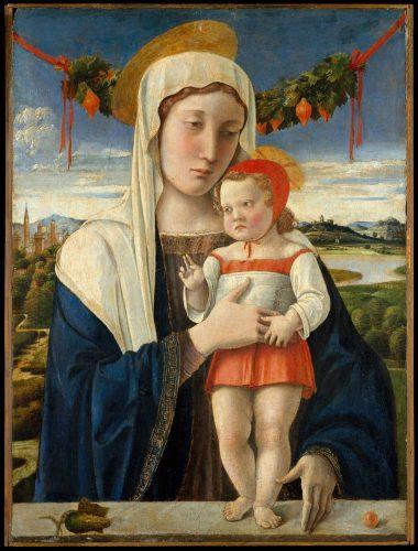 ジョヴァンニ・ベッリーニ 聖母子