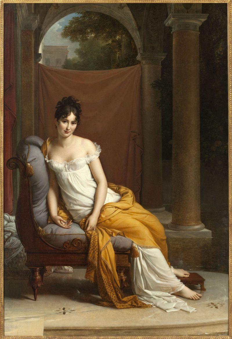 フランソワ・ジェラール『レカミエ夫人の肖像』