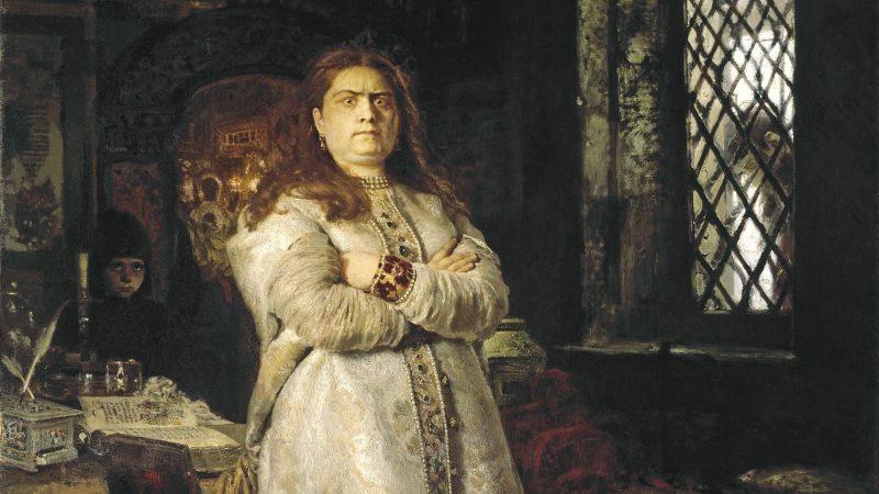 イリヤ・レーピン『皇女ソフィア』