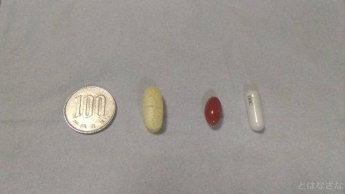 錠剤の大きさ